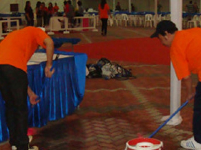 Qool Enviro event cleaning service