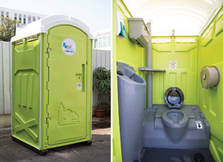 Qool Enviro royal flush portable toilet