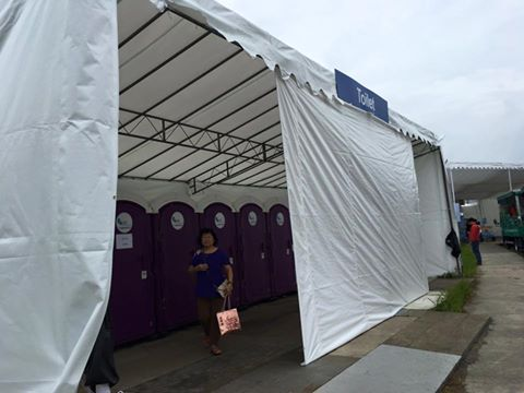 portable toilet in singapore airshow 2
