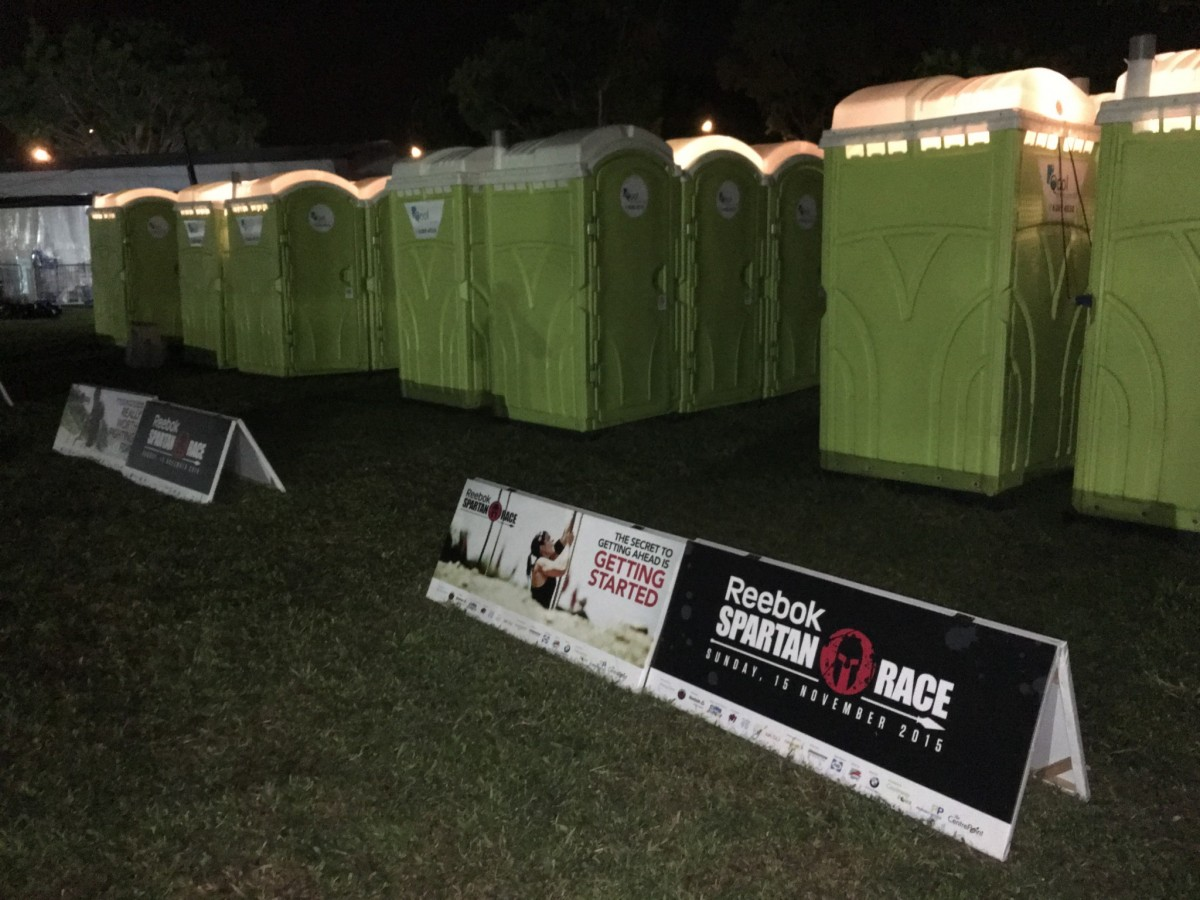 qool enviro portable toilet in spartan race